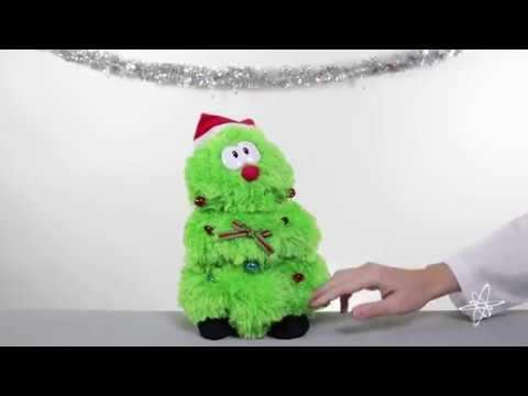 Plush Animated Christmas Tree – Lights Up, Sings, & Dances!