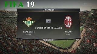 Download Video FIFA 19 - Uefa Europa League - Real Betis vs. Milan @ Estadio Benito Villamarín MP3 3GP MP4
