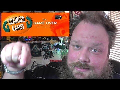 Grainger Games Closes Stores : Staff Made Redundant!