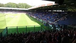 Graafschap - Feyenoord uitvak voor de wedstrijd
