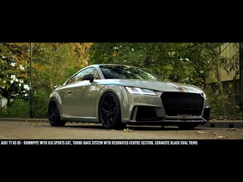Audi TT RS 8S with Full Milltek Sport Resonated Exhaust System