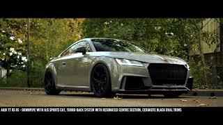 Audi TT RS 8S with Full Milltek Sport Exhaust System