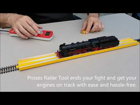Proses Loco Railer HO/OO Scale