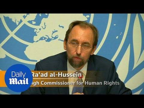 UN human rights commissioner says Trump endangers journalists - Daily Mail