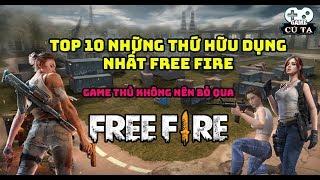 Free Fire | Top 10 những thứ hữu dụng nhất trong Garena Free Fire bạn không nên bỏ qua khi chơi game