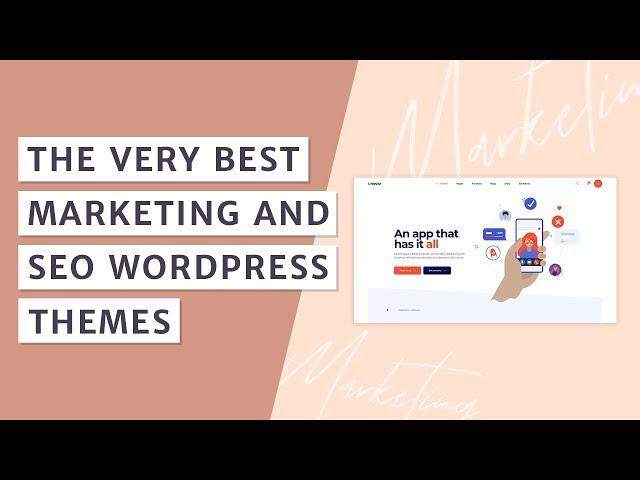 Best WordPress Themes for Marketing and SEO