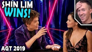 Magician Reacts To Shin Lim Winning On Agt The Cha