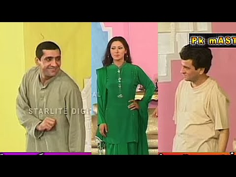 Best Of Zafri Khan and Tariq Teddy Pakistani Stage Drama Comedy Clip | Pk Mast