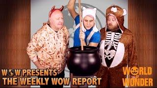 Video WOWPresents Weekly WOW Report - Halloween Extravaganza! download MP3, 3GP, MP4, WEBM, AVI, FLV Januari 2018