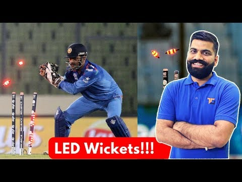 How LED Wickets Work? INR 25 Lakh per set???