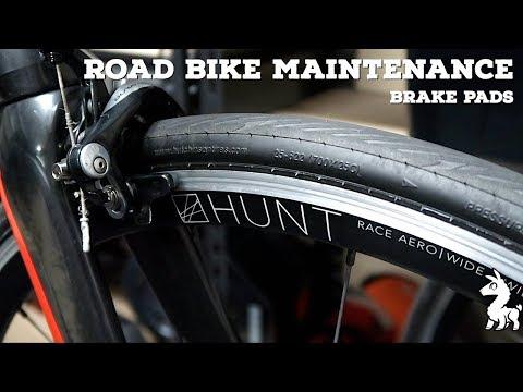 Road Bike Maintenance // Cleaning Brake Pads (Rim Brakes)