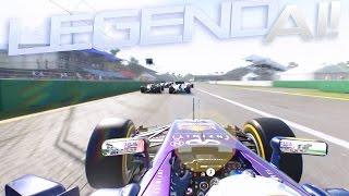 F1 2015 - LEGEND AI | AMD HD 7770 Ultra Settings [1080p HD]