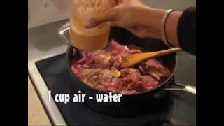 Resep membuat Dendeng Ragi - Serundeng Daging - Beef in grated coconut