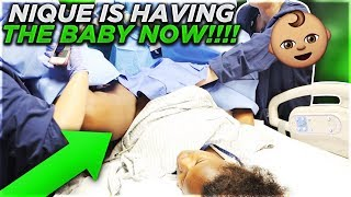 NIQUE IS HAVING THE BABY NOW!!! thumbnail