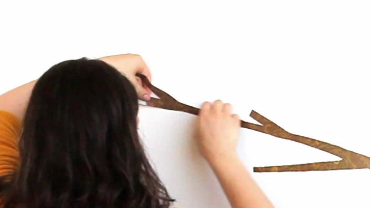 How To Apply A Peel Stick Wall Decal For Teens Lot 26 Studio