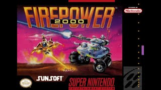 Is Firepower 2000 Worth Playing Today? - SNESdrunk