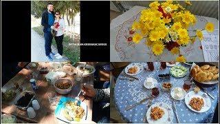 ŞAHANE PAZAR/KAHVALTI/PİKNİK/BOL YEMEK/PİŞİ/ANNEMDE KALDIK