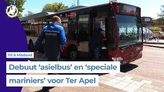 Speciale bus voor asielzoekers