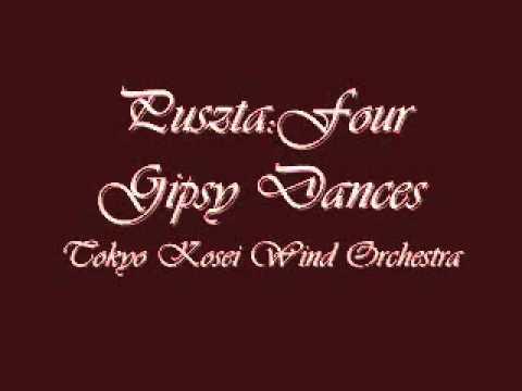 Puszta Four Gipsy Dances.Tokyo Kosei Wind Orchestra.