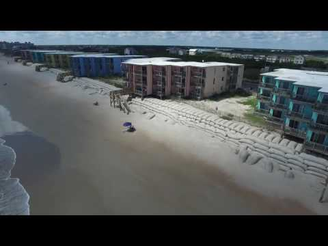 North Topsail Beach Flyover September 1, 2016