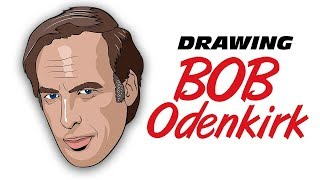 Speed drawing Bob Odenkirk in 20 minutes