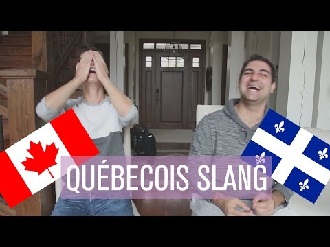 FRENCH CANADIAN SLANG // feat. Brandon Schaus