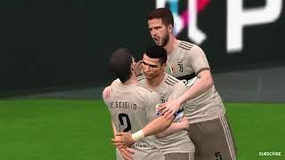 Benfica vs Juventus Ronaldo Scored 4 Goals 28 July 2018   Gameplay