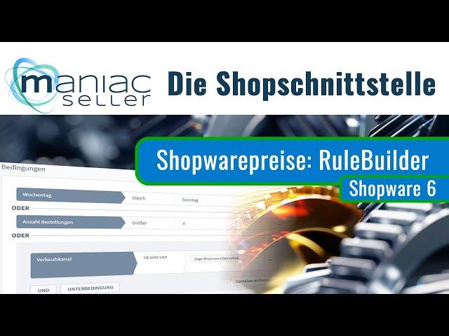 Teil 1 unserer Miniserie zur Preisfindung zwischen Shopware6 und Sage 100: Die Shopware6 Preisregeln