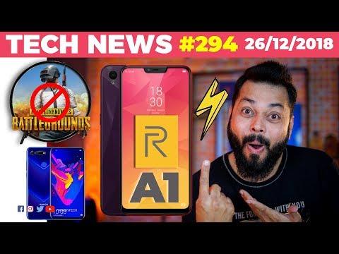 New Realme A1, New Jio Big Screen Smartphone, PUBG Ban..Really?, Kimbho DEAD, Honor V20 WOW!-TTN#294