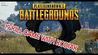 19 kill és izgalmas végjáték a romoknál | PUBG FPP-DUO Kodiakkal