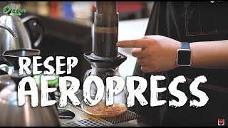Resep Aeropress dari Runner Up Indonesia Aeropress Champion 2017