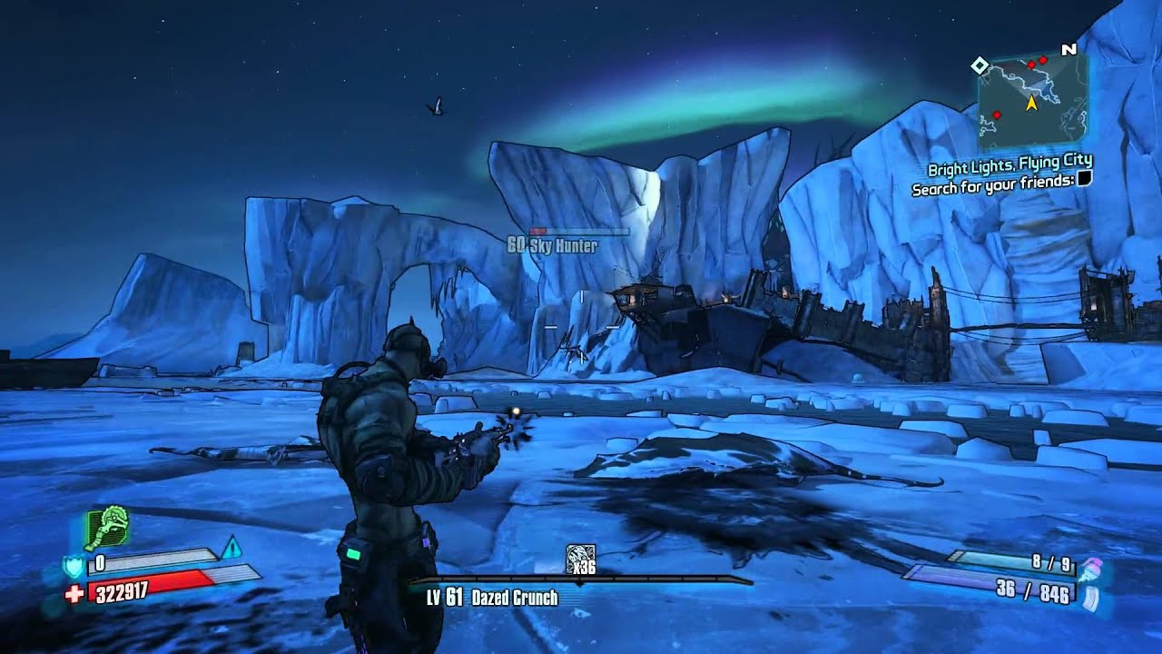Mania Krieg In Third Person Borderlands 2 Youtube