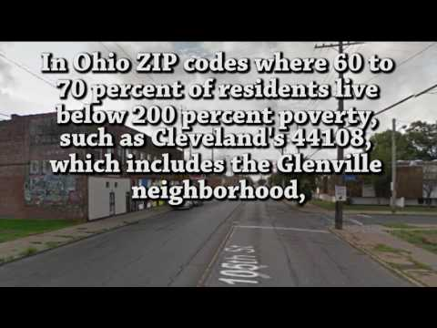 25 Ohio ZIP codes with the highest rates of license suspensions