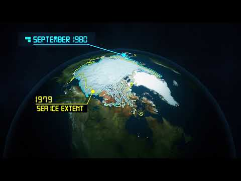 Animation Shows Disappearing Arctic Sea Ice