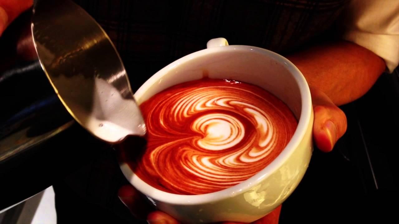 Latte Art Tulip Latte art(Wing tulip)2...