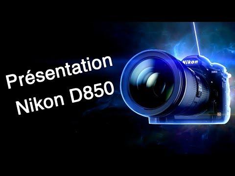 Présentation Nikon D850 - Conférence Nikon Salon de la Photo 2017