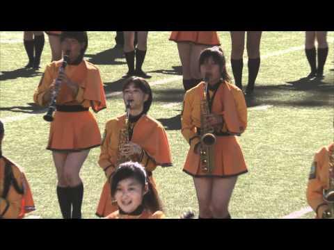 Bandfest 2012, Kyoto Tachibana High School Band, Japan (Action clip)