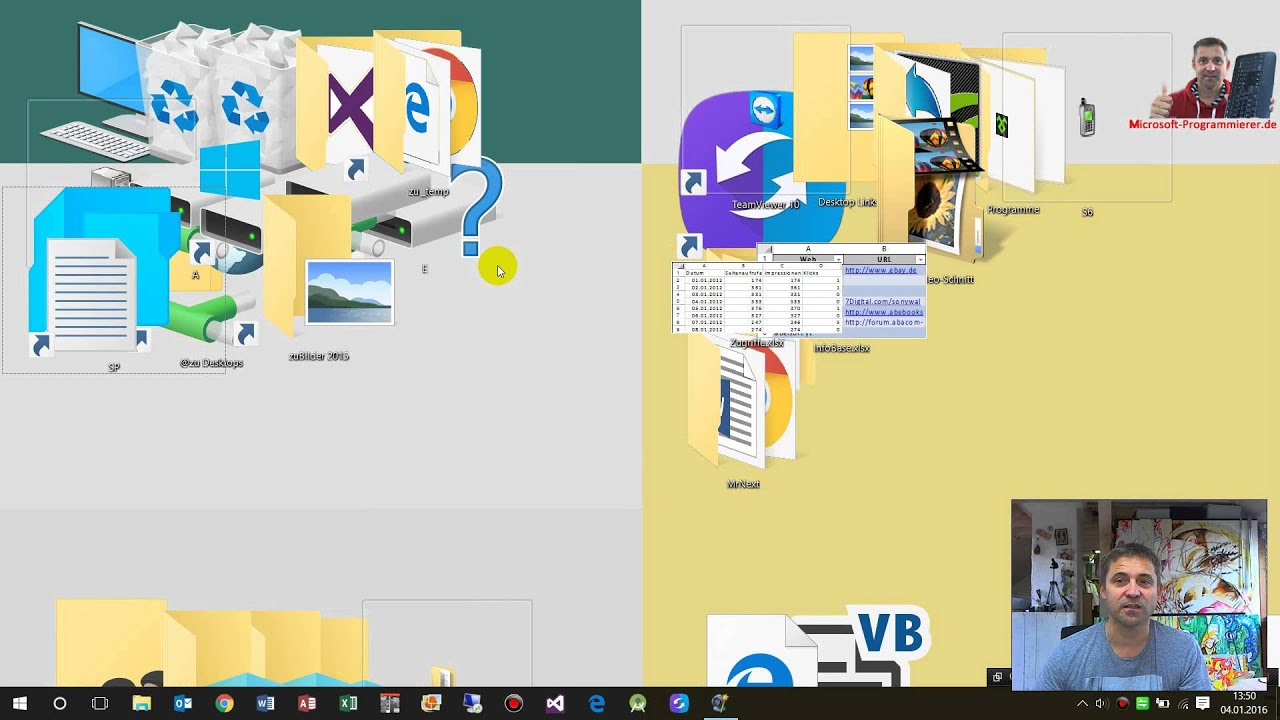 Windows 10 Größe
