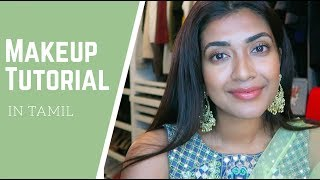 One of Vithya Hair and Make Up's most viewed videos: Makeup Tutorial in Tamil | Vithya Hair and Makeup Artist