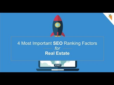 SEO for Real Estate Investor | 4 Important SEO  Ranking Factors
