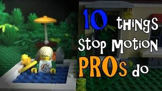 10 Things Stop Motion Pros Do