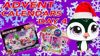 ADVENT CALENDAR DAY #4 || Trolls, Monster High, Disney Tsum Tsum, LPS, MLP, Star Wars 2016 Unboxing