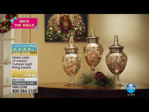 HSN | Deck the Halls Finale 11.07.2017 - 11 PM