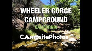 Wheeler Gorge Campground, Los Padres National Forest, Californ…