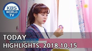 Today Highlights-Love To The End Ep.47/Sunny Again Tomorrow Ep.102/Hello Counselor [2018.10.15] Mp3
