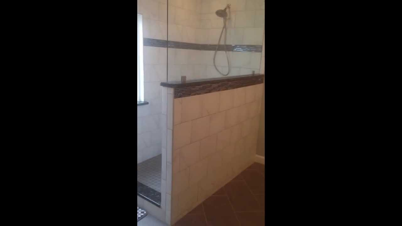Bathroom Remodel Replacing Tub With Shower Youtube
