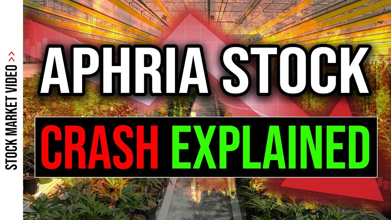 Aphria Stock Is Crashing Apha Stock Analysis Youtube