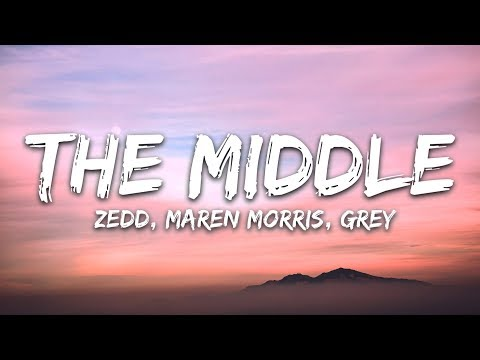 Cover Lagu Zedd, Maren Morris, Grey ‒ The Middle (Lyrics / Lyric Video) STAFABAND