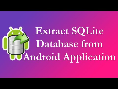 [OLD] Extract SQLite Database From Android Application