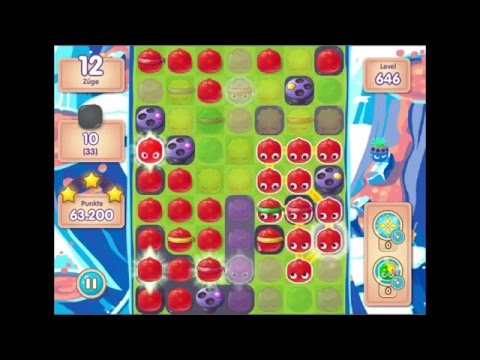Jelly Splash lvl 646 - 3 Stars -